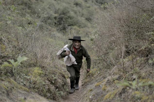 Аргентинец живет в горах без благ цивилизации уже 40 лет