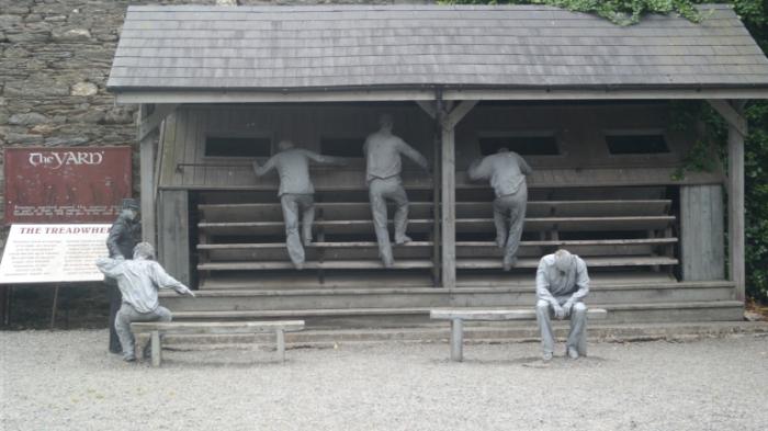 Как беговые дорожки были одним из жестоких наказаний в тюрьмах прошлого