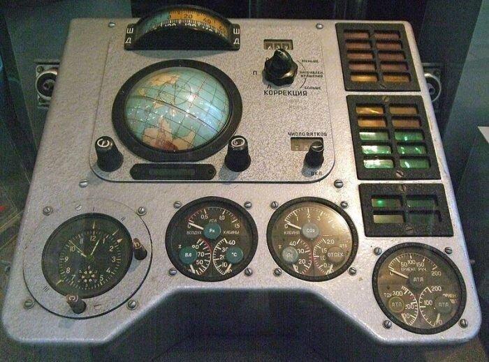 Навигационное оборудование советского космического корабля
