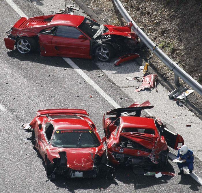 Некоторые из дорогостоящих аварий и человеческих ошибок