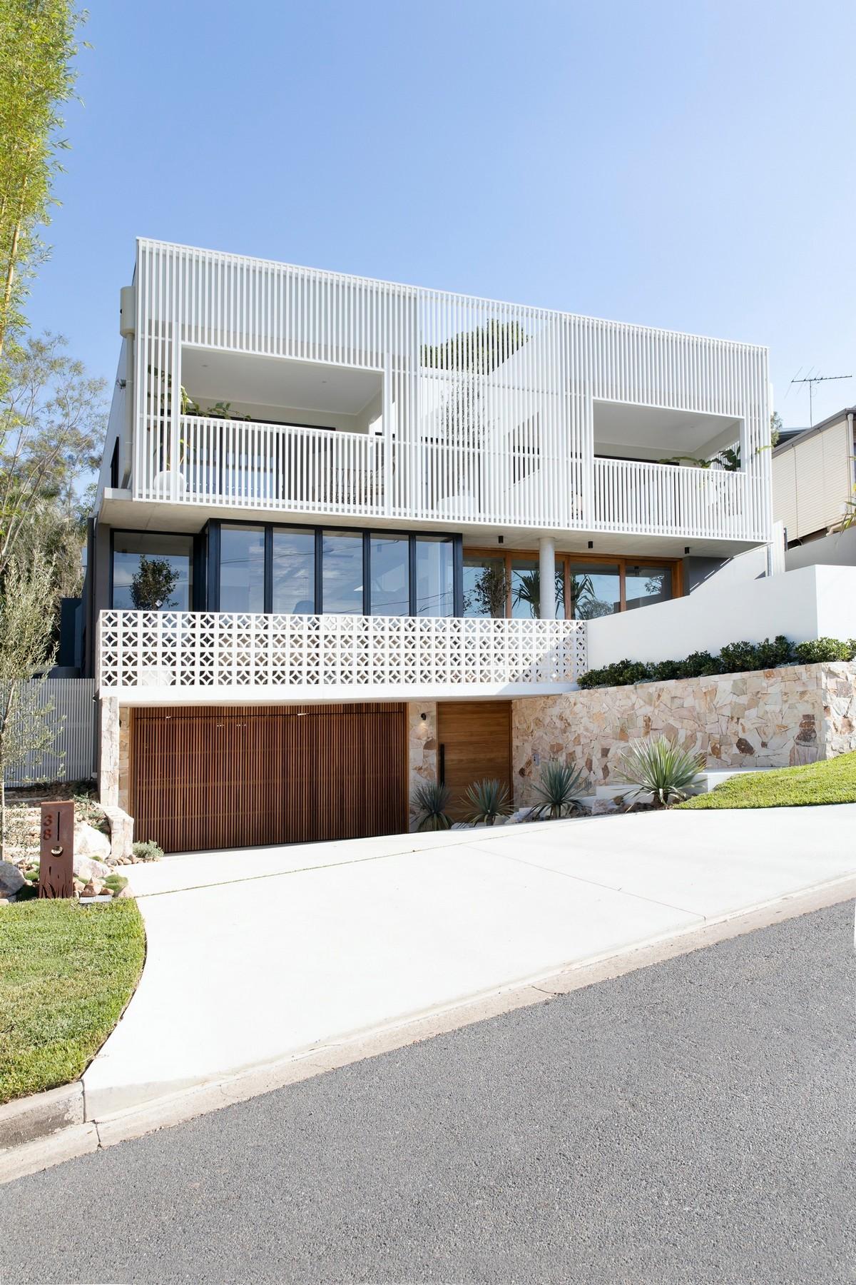 Семейный двухэтажный особняк в Австралии