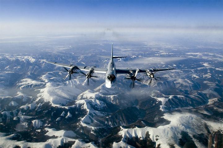 Взлет ядерного Медведя Ту-95