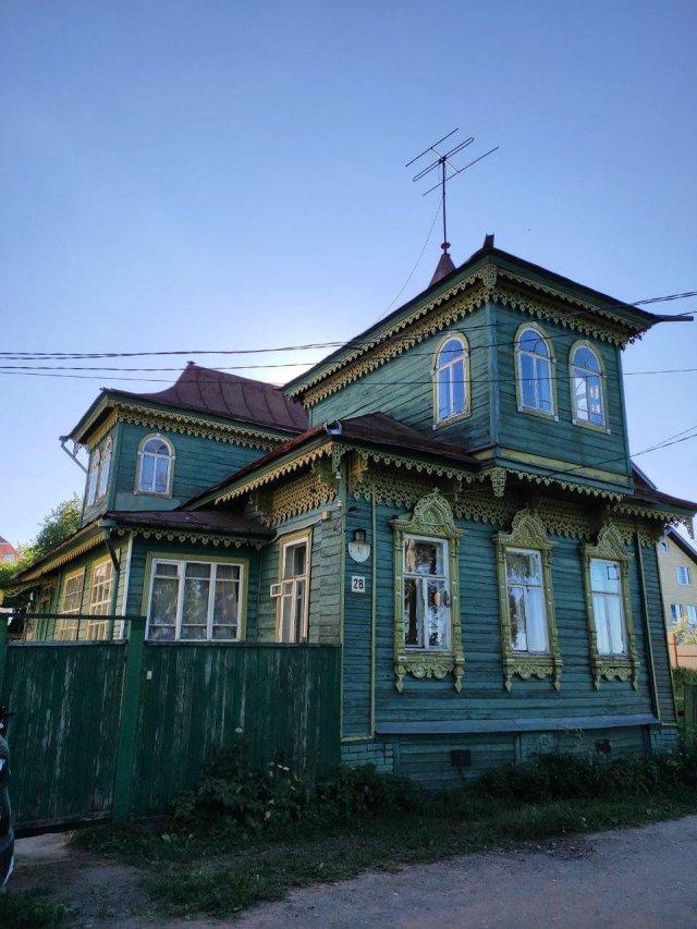 Деревянные строения в России, сохранившиеся до наших дней