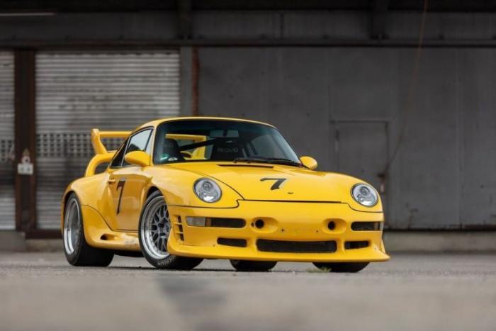 Ruf CTR2 Sport 1997 года, был самым мощным серийным автомобилем (ФОТО)