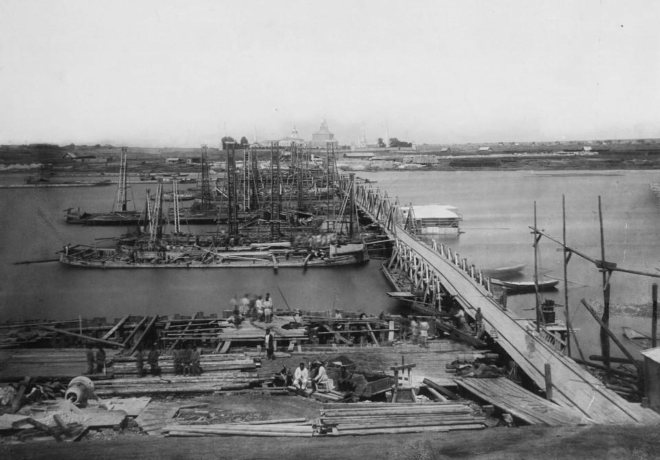 Снимки крупных строительных проектов в российской и советской истории