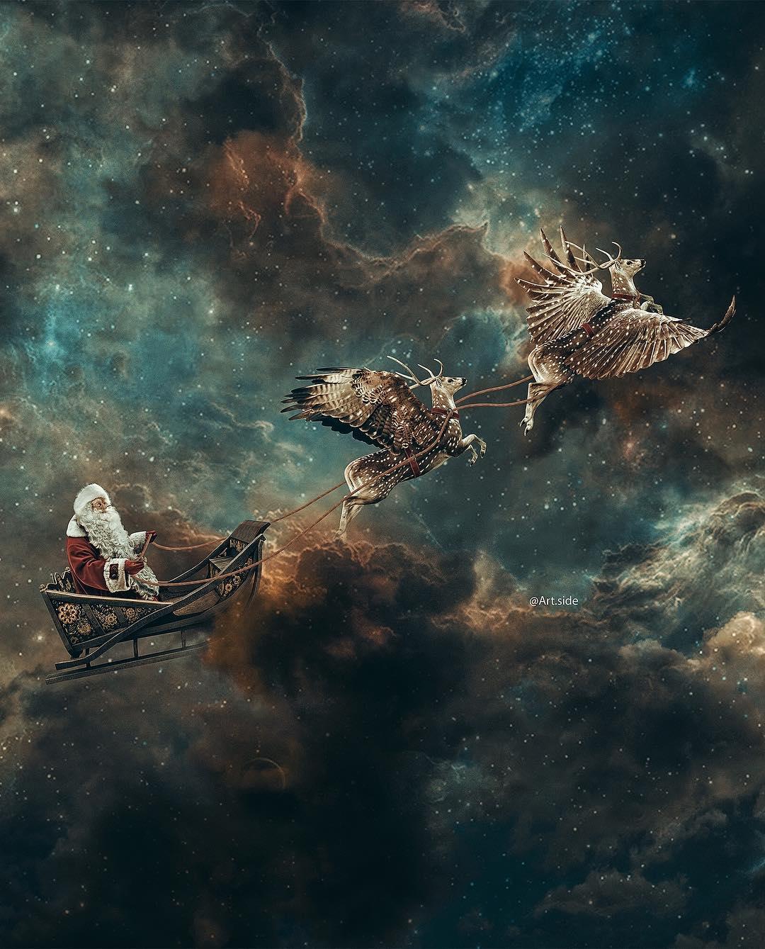 Впечатляющие фотоманипуляции от Хусейна Шахина