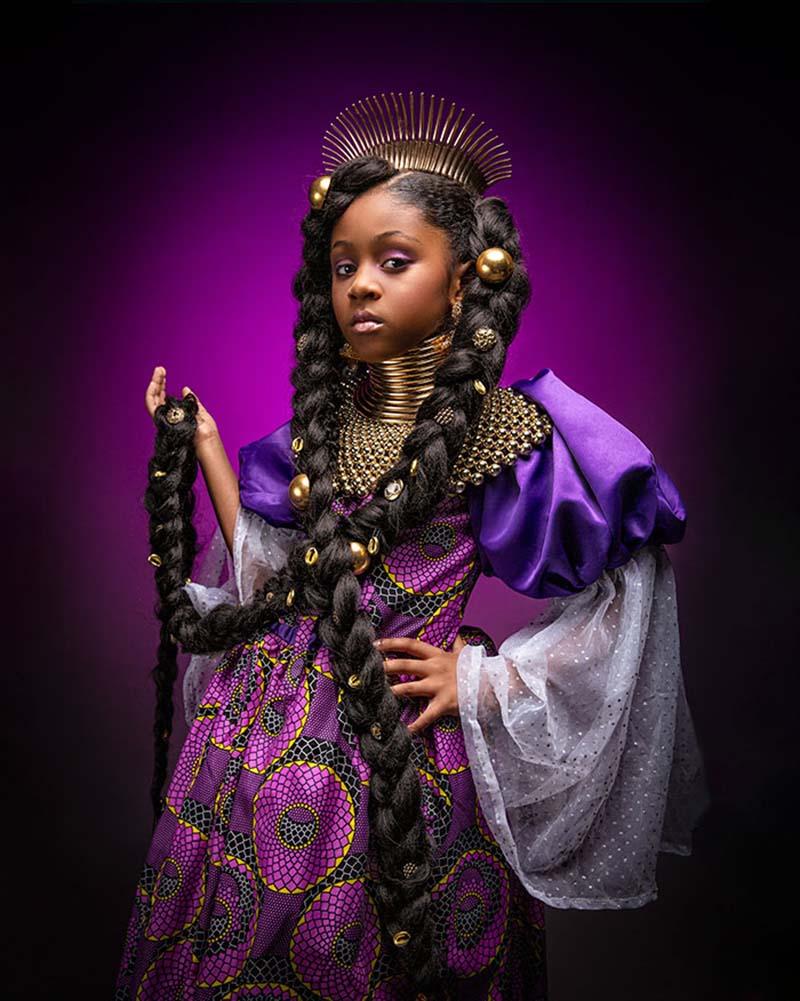 Как выглядели бы известные принцессы Диснея, будь они чернокожими