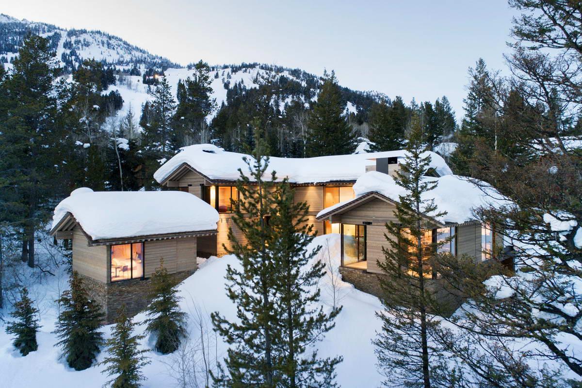 Лесная резиденция для активного отдыха в США (ФОТО)