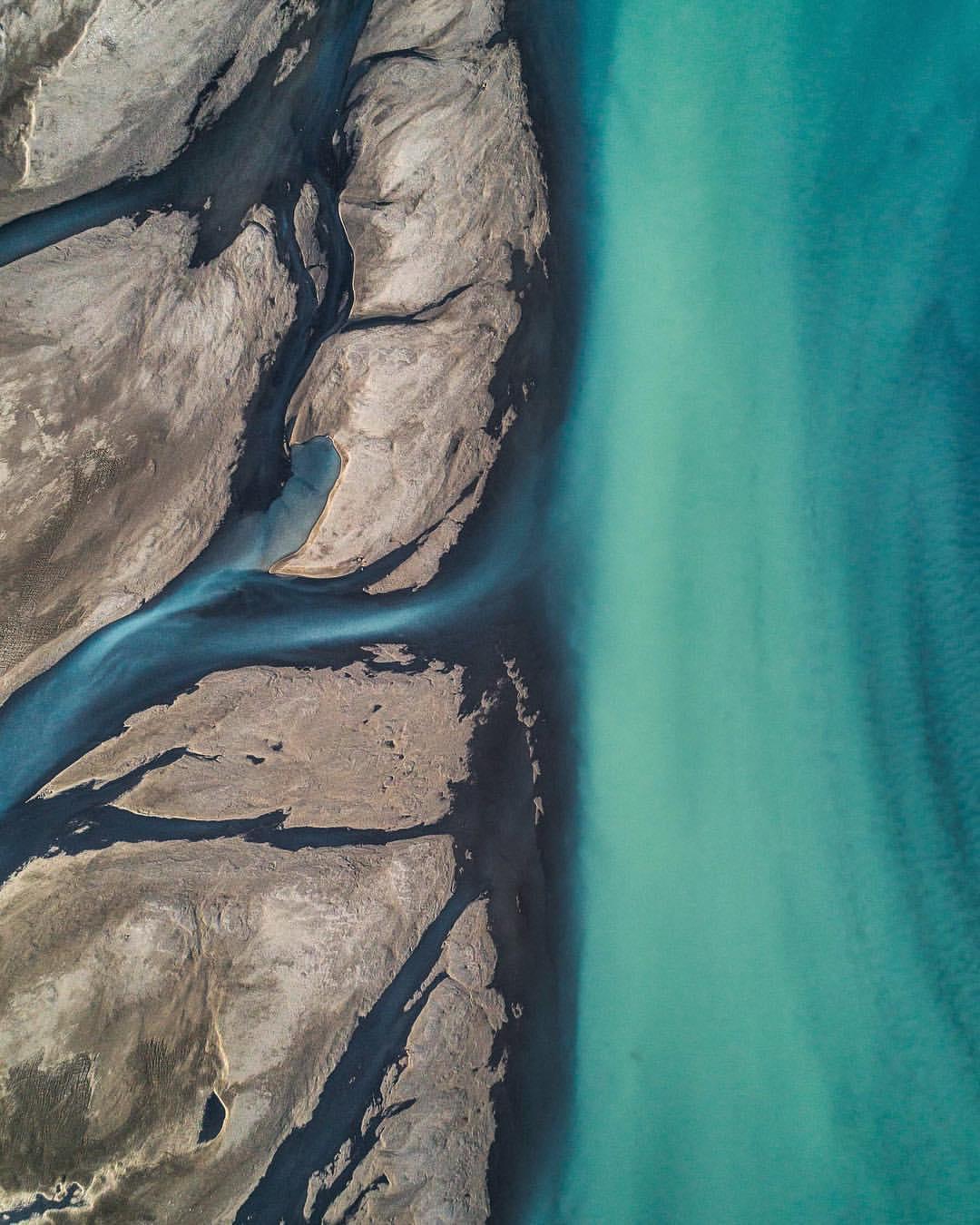 Невероятные аэрофотоснимки в фотопроекте Abstract Aerial Art