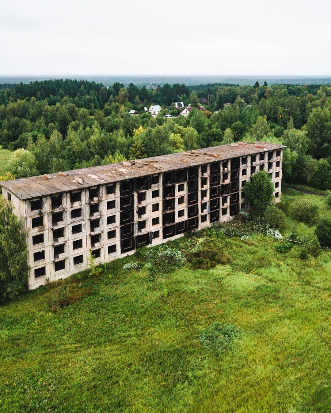Необычные и заброшенные места России в фотопроекте Kosmaj Project