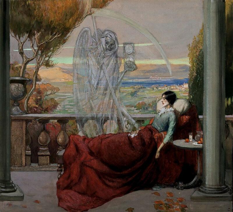 Ричард Теннант Купер и его чумные фантазии в картинах
