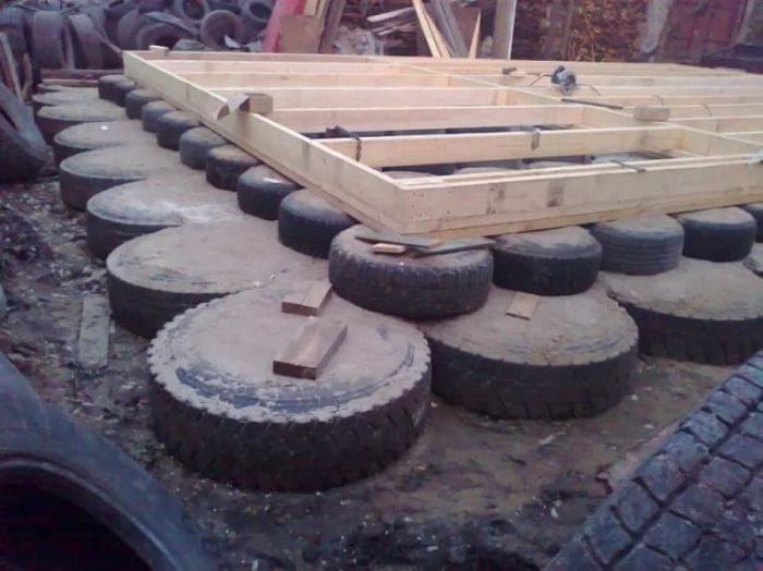 Что можно смастерить из старых шин на даче или в гараже