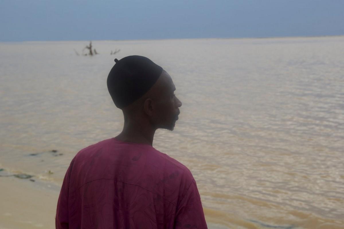Африканский город Сен-Луи поглощается океаном