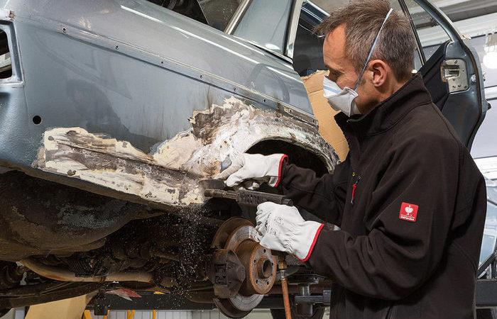Как удаляют ржавчину с кузова автомобиля (ФОТО)