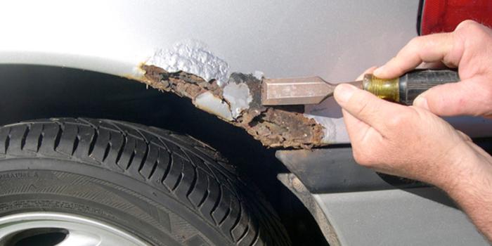 Как удаляют ржавчину с кузова автомобиля