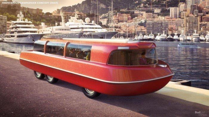 Как в 20 веке люди представляли себе путешествия будущего