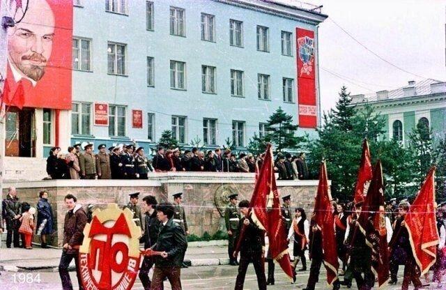 Цветные снимки из советского прошлого, навевающие воспоминания