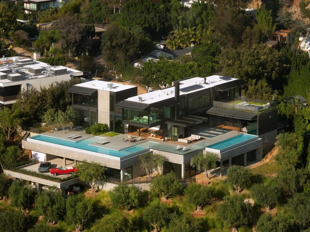 Резиденция финансиста в Лос-Анджелесе  (ФОТО)