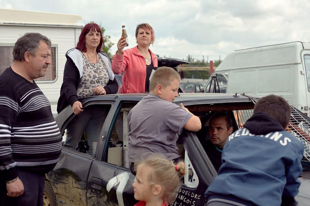 Автомобильное родео или как развлекаются простые французы