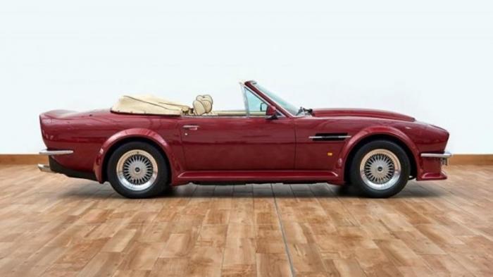 Кабриолет Aston Martin V8, которым владел Дэвид Бекхэм