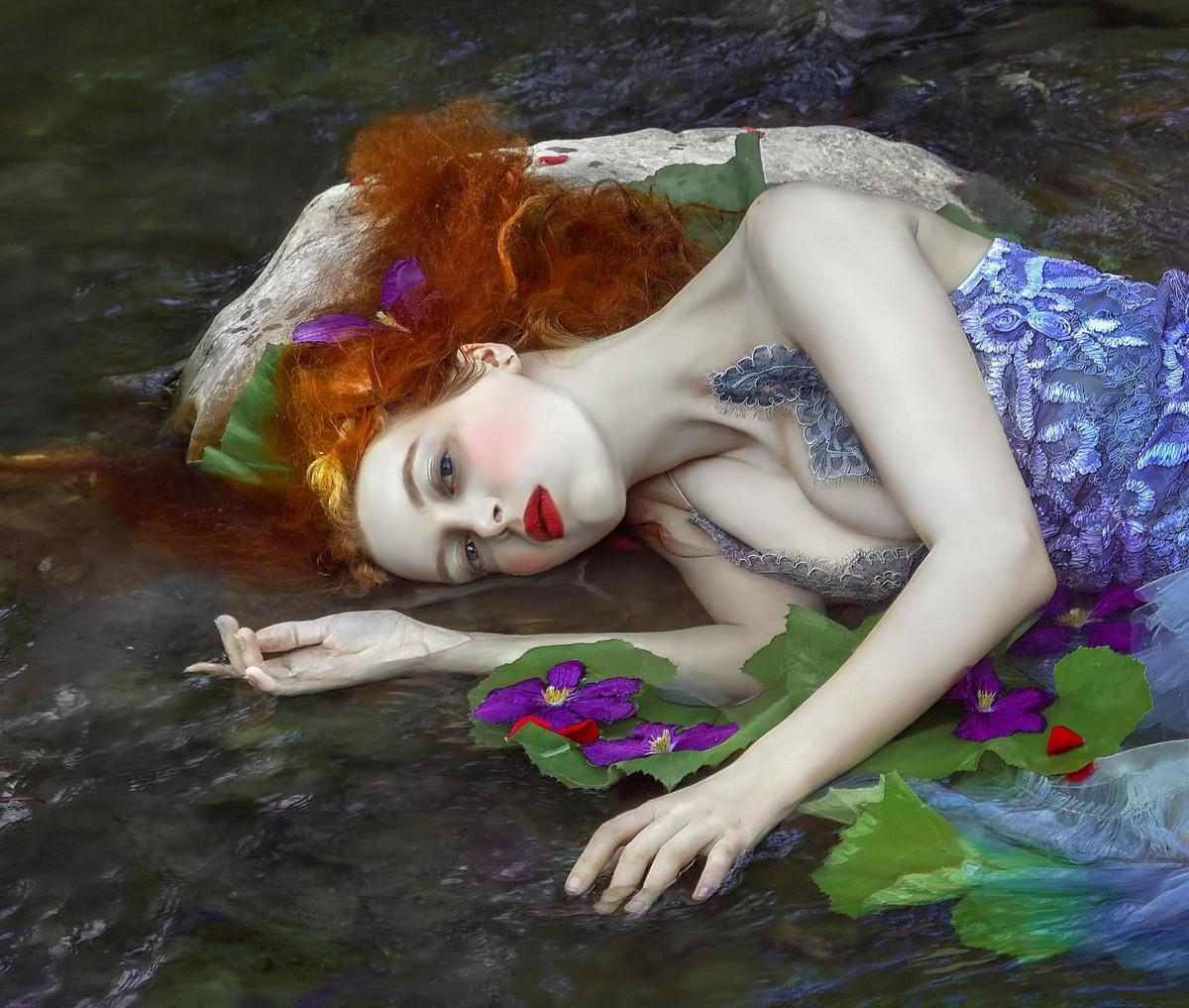 Прекрасные лесные феи из волшебных миров от Агнежки Лорек