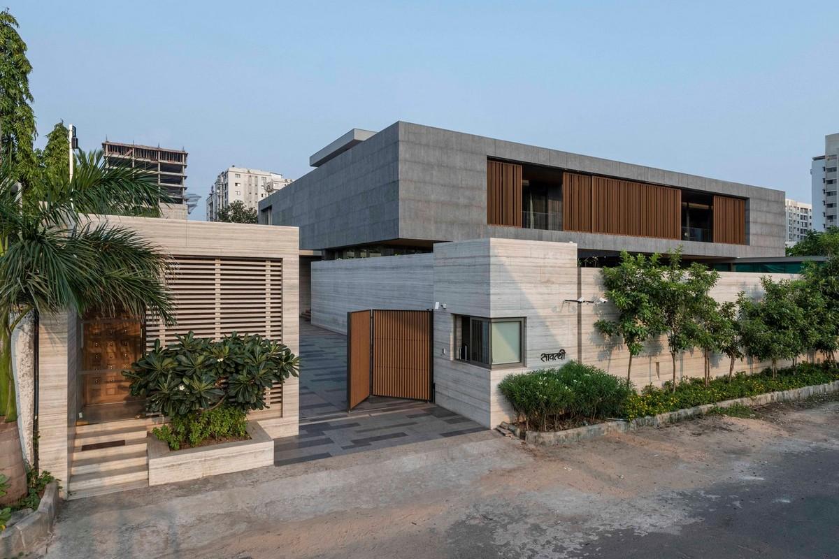 Современный семейный дом в Индии (ФОТО)