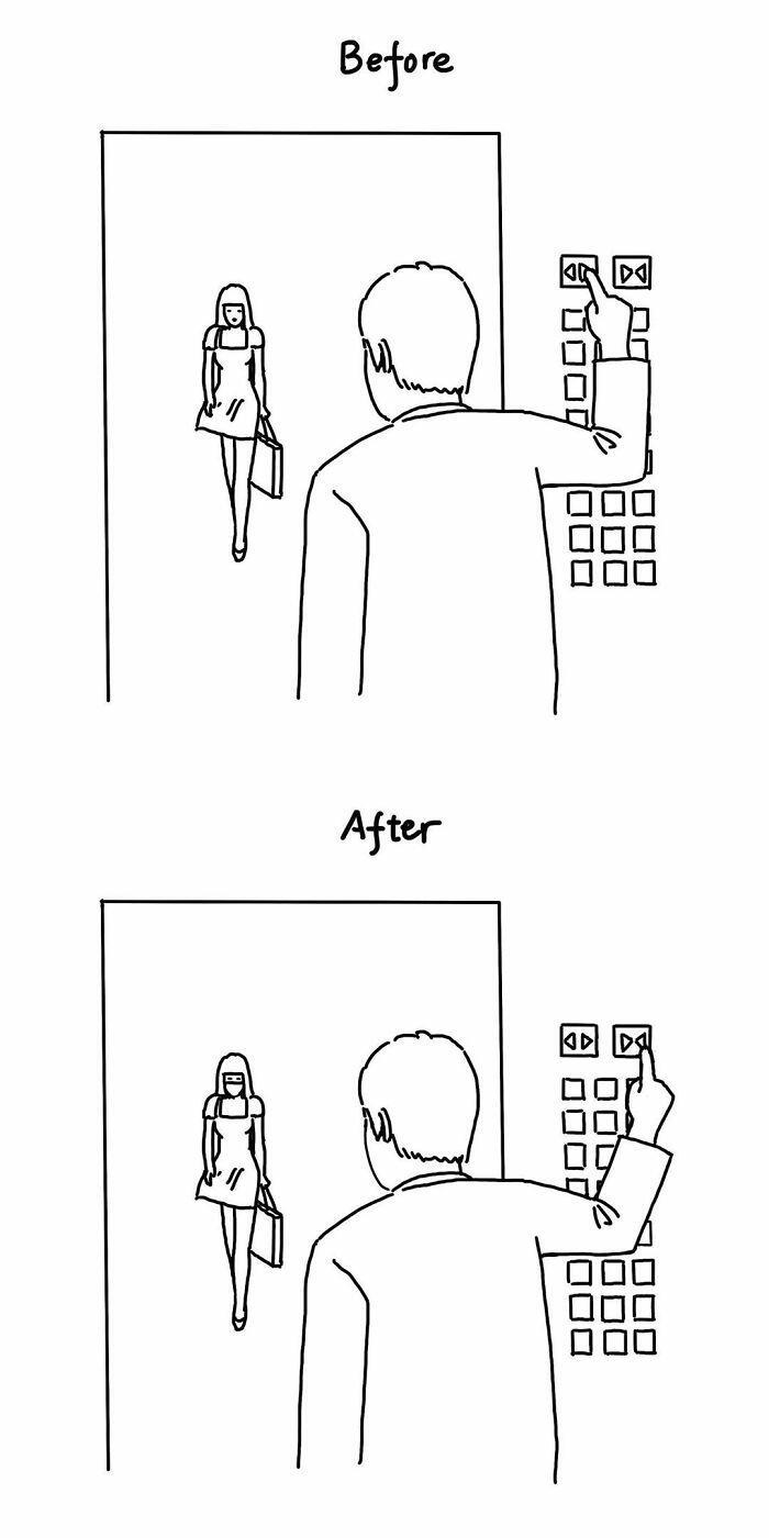Забавные и минималистичные комиксы с неожиданным сюжетом