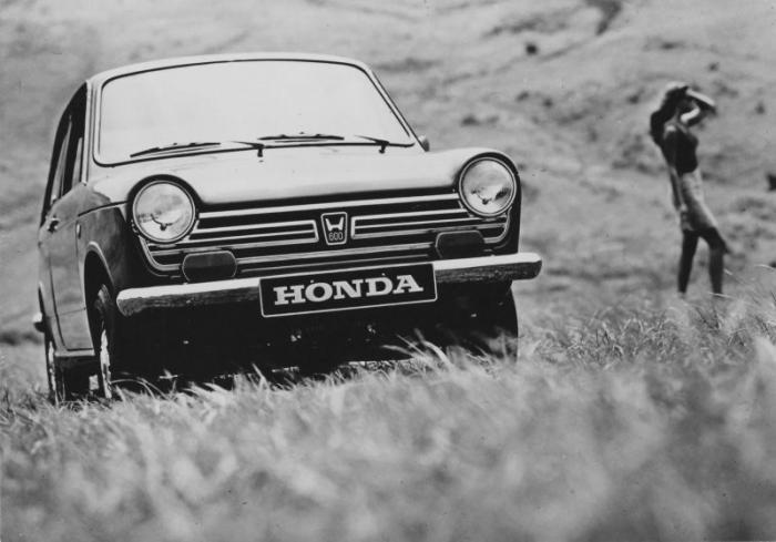 Малолитражка Honda N600, с которой Honda начала завоевание Америки
