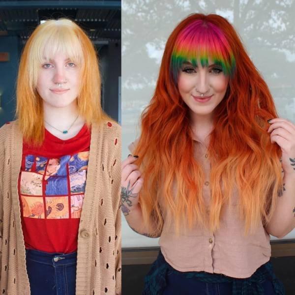 Перевоплощения людей, кардинально изменивших внешность