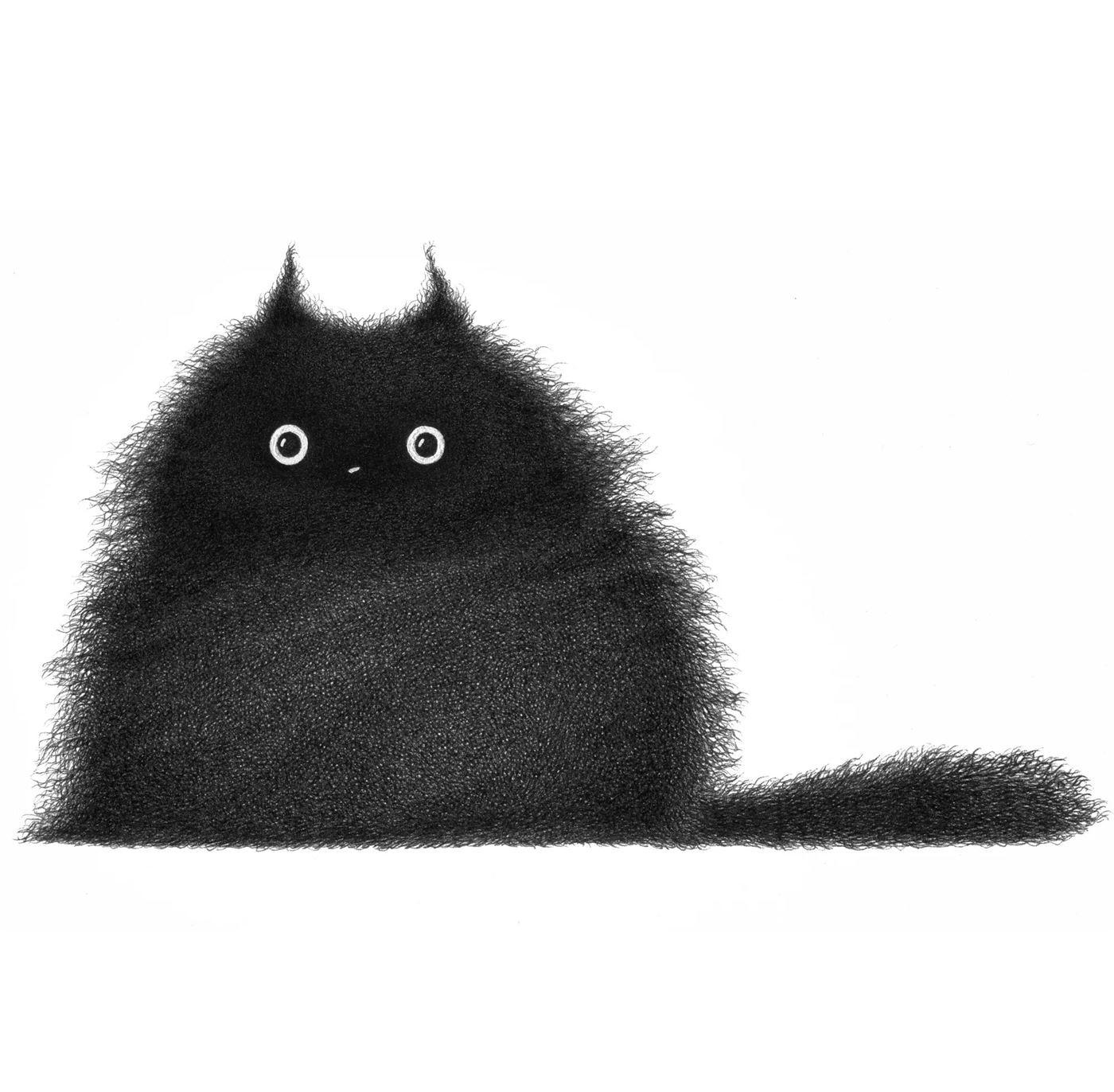 Штрихованные кошки от Луиса Коэльо