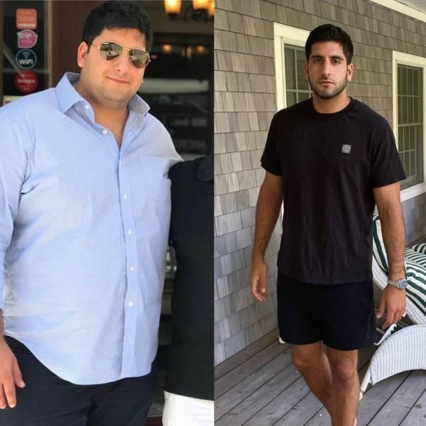 Люди, которые захотели похудеть и у них получилось