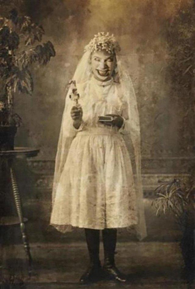 Немного пугающие фотографии из прошлого