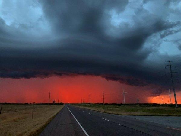 Потрясающие красоты, которые способна создать погода
