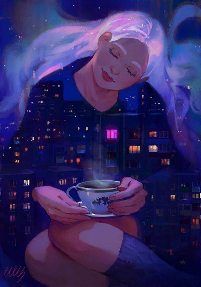 Сказочные миры в иллюстрациях Юлии Журавлевой