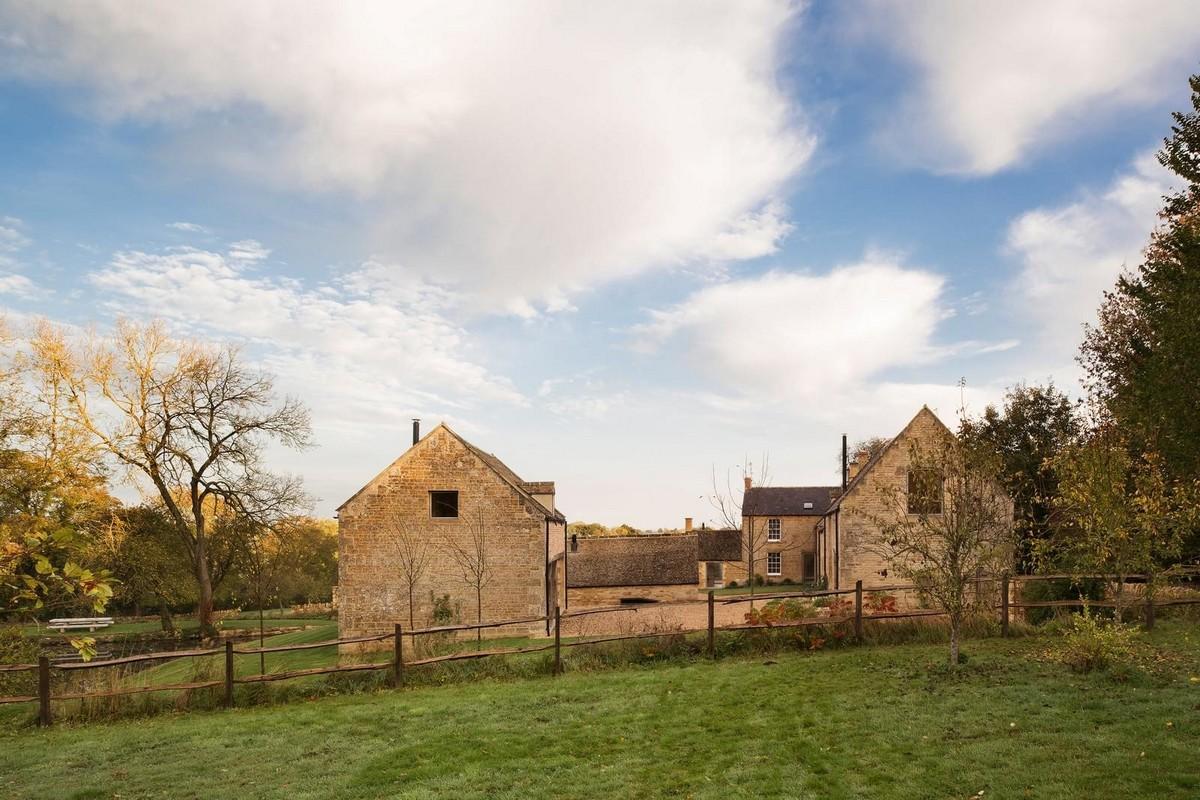 Спокойное место для отдыха в фермерском комплексе 1610 года