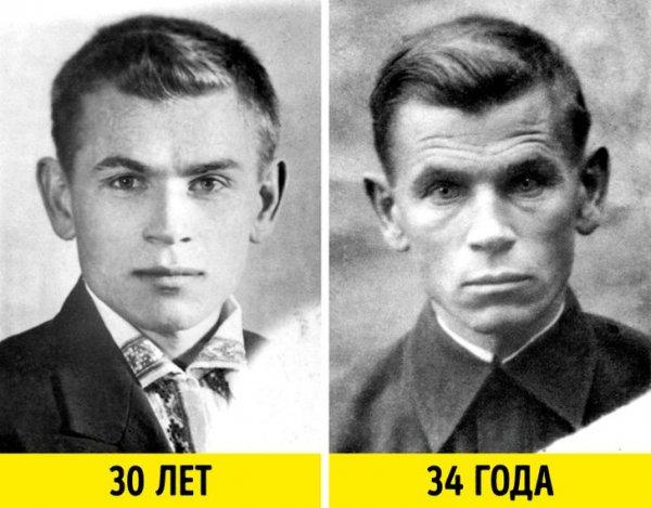 Интересные снимки в стиле до и после
