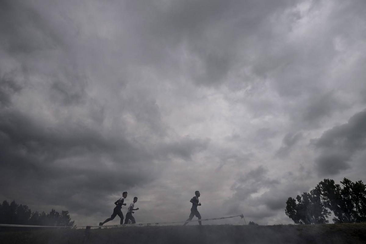 Экстремальный забег с препятствиями Brutal Run в Венгрии