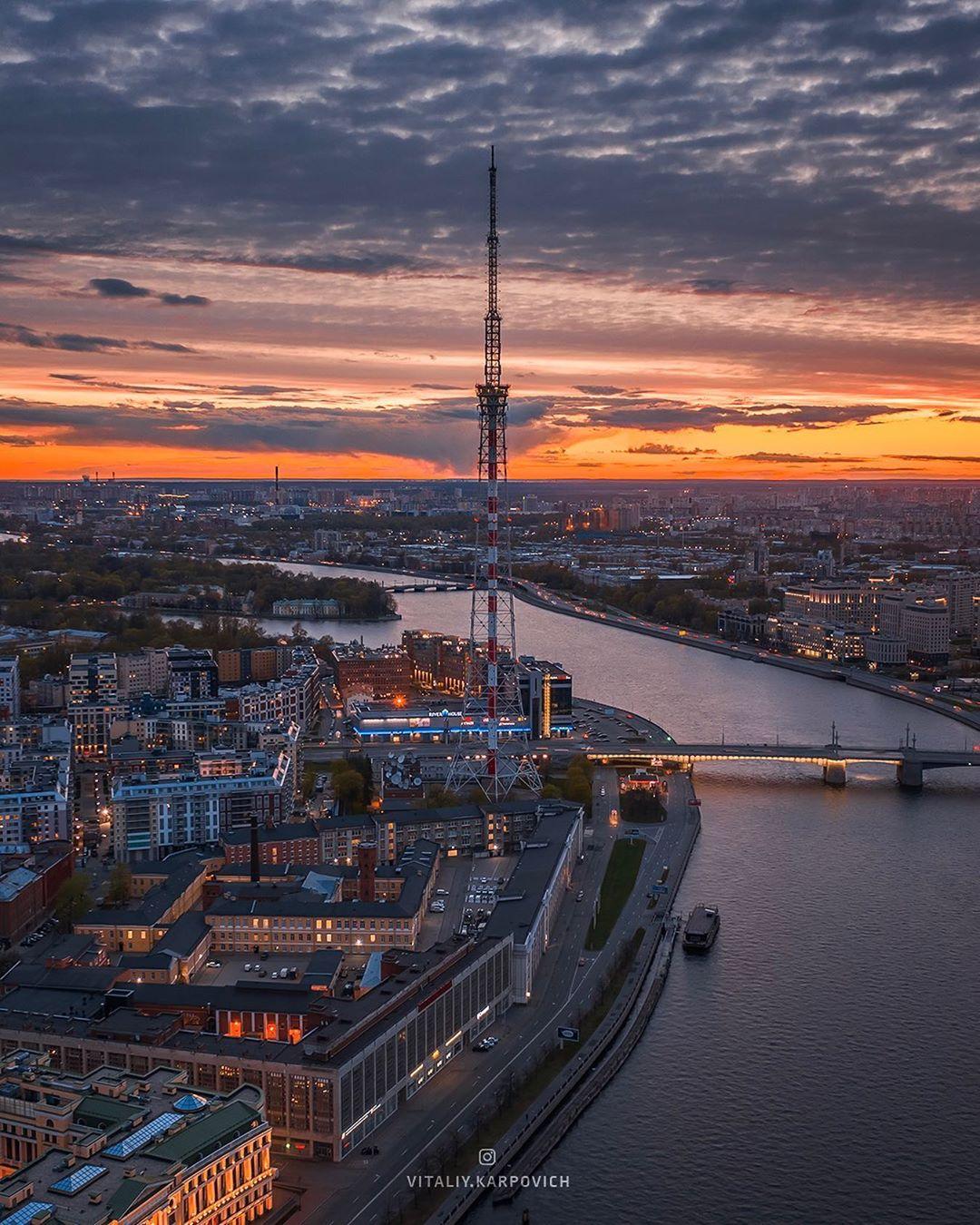 Городские пейзажи на аэрофотоснимках от Виталия Карповича