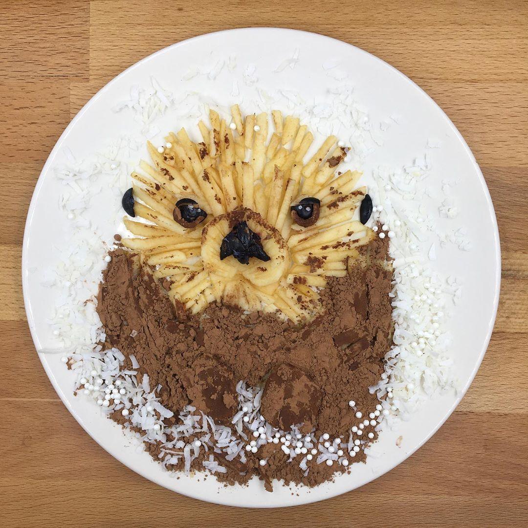 Удивительные завтраки в виде животных для 5-летнего сына
