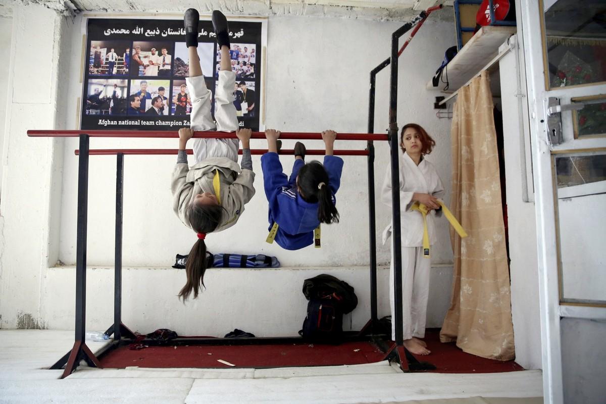 Женский клуб боевых искусств в Кабуле