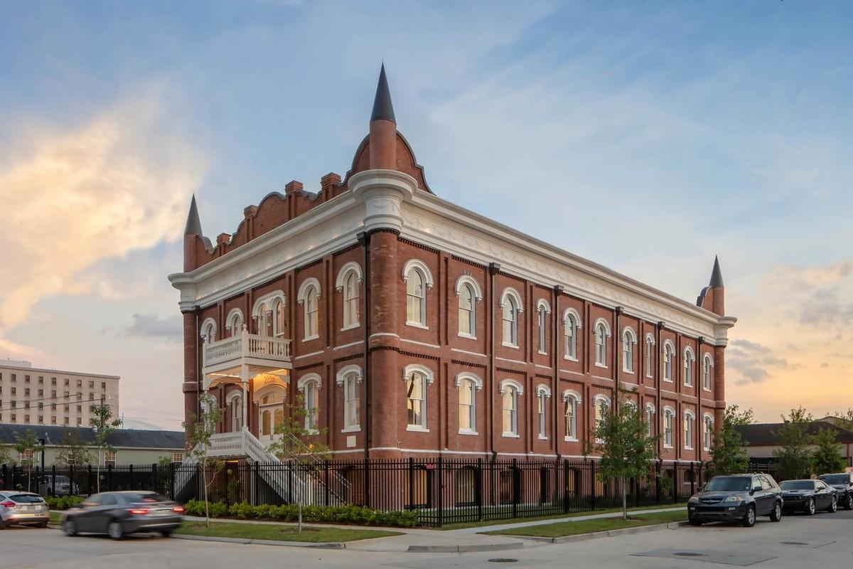 Квартира в историческом здании школы в Новом Орлеане