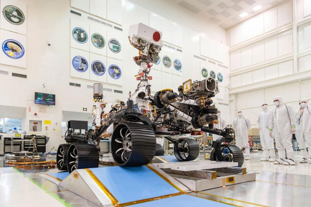 Проект Марс-2020 на снимках