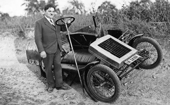Zaschka Three Wheeler — первая в мире складная машина