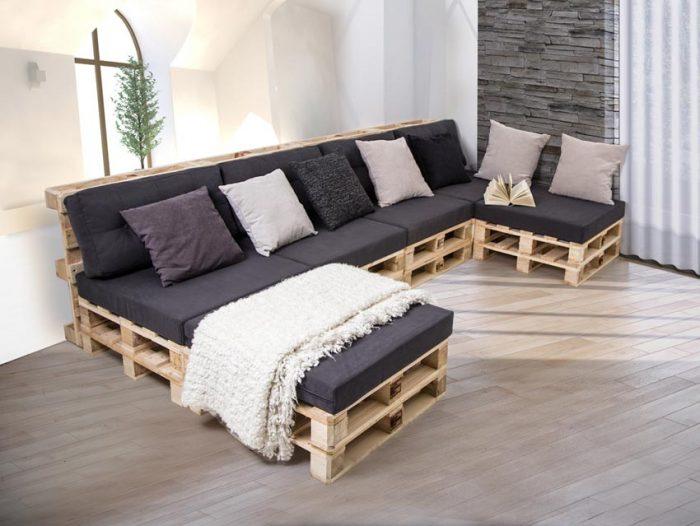 Интересные решения для дома и дачи: мебель своими руками