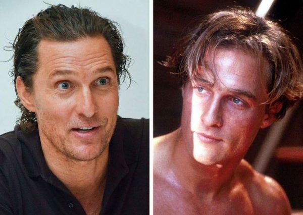 Знаменитые красавчики мира кино: сегодня и тогда на снимках