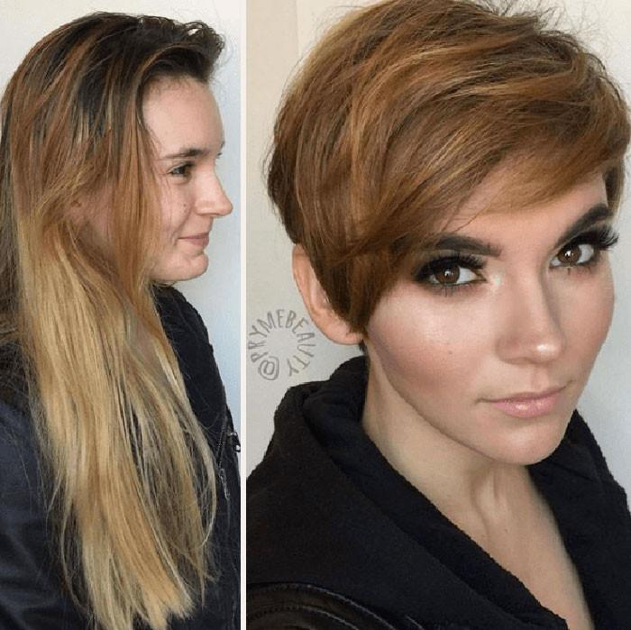 Эти фотографии доказывают, что прическа полностью преображает внешность