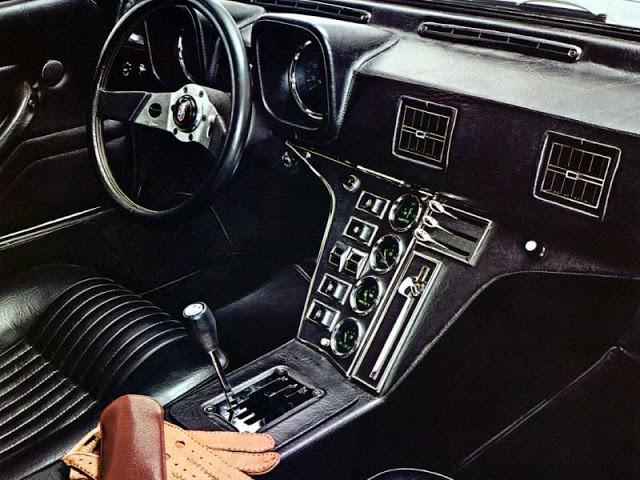 DeTomaso Pantera 1971 для настоящих ценителей ретромобилей