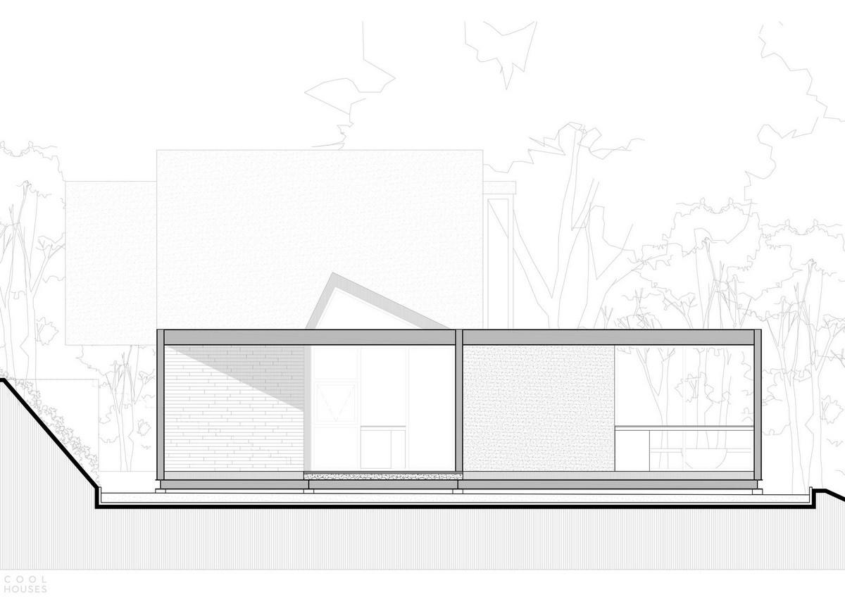Оригинальный дом со стеклянной крышей в Колумбии