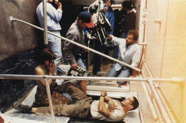 Снимки со съемочных площадок известных фильмов