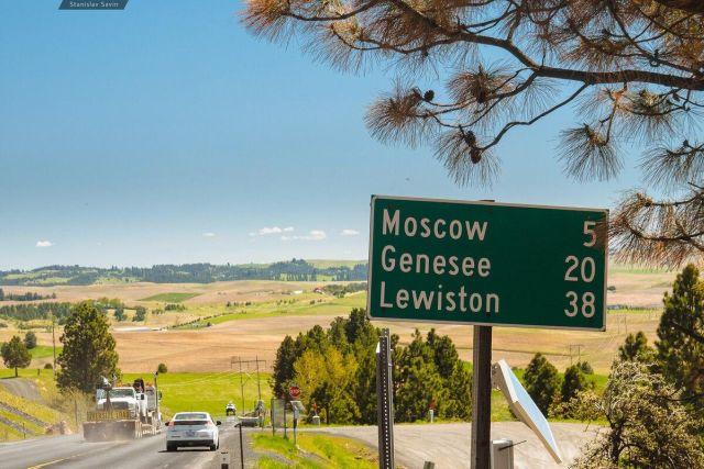 Маленький город Москва в США
